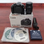 Canon 1100d Black Edition Kitt 18-55mm SC Minim