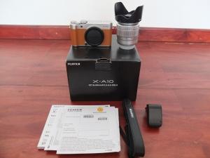Fujifilm X-A10 Lensa 16-50mm Umur 2 bulan | Jual Beli Kamera