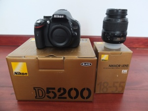Nikon D5200 Kit 18-55mm SC Seribu an | Jual Beli Kamera