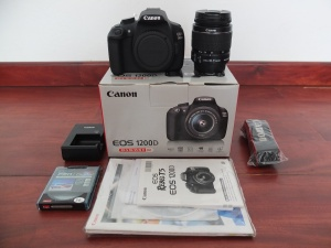 Canon 550D + Kit 18-55mm Istimewa SC 5ribuan