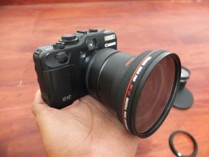 Canon G12 Dengan Lensa Makro Plus Converter | Jual Beli Kamera Bekas