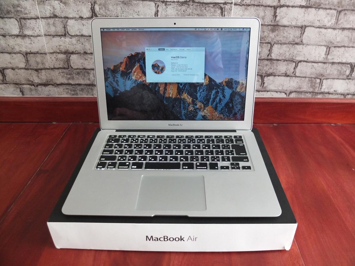 Jual Beli Laptop Kamera   surabaya   sidoarjo   malang   gersik   krian   Macbook Air 13 MC295