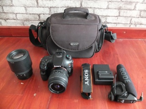Sony SLT a65 18-55mm Dan 55-200mm | Jual Beli Kamera Surabaya