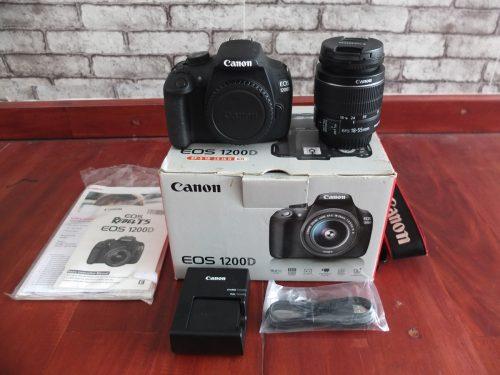 Canon 1200D Lensa Kit 18-55mm SC Dikit | Jual Beli Kamera Surabaya