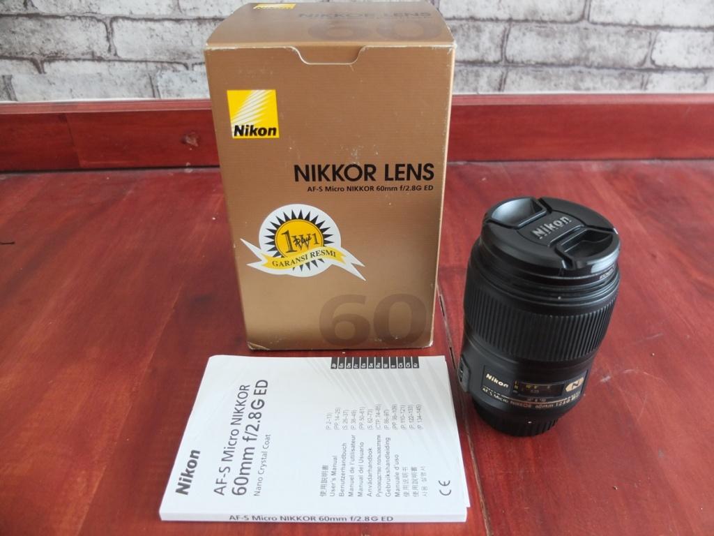 Jual Beli Laptop Kamera | surabaya | sidoarjo | malang | gersik | krian | Nikon AFS 60mm F2,8