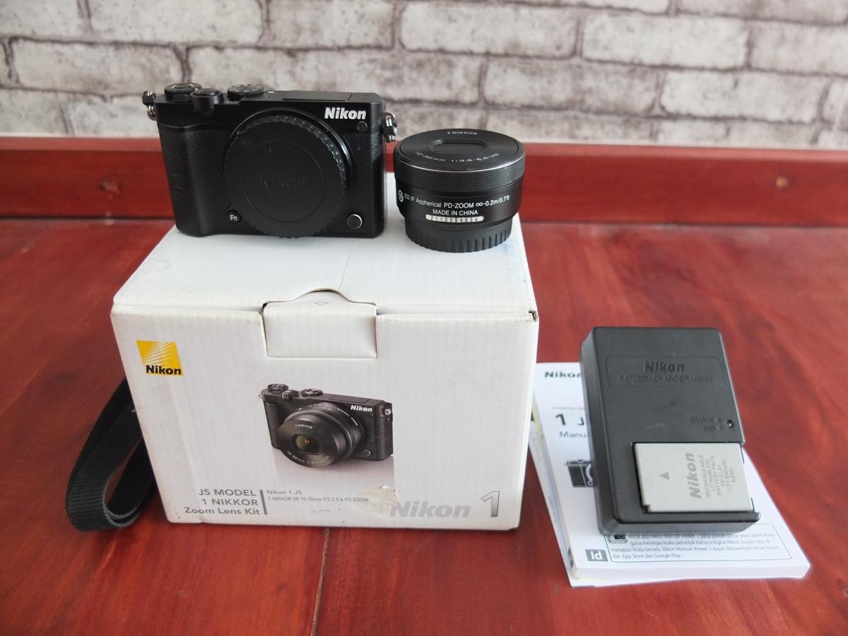 Jual Beli Laptop Kamera | surabaya | sidoarjo | malang | gersik | krian | Nikon 1 J5