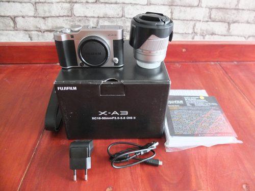 Fujifilm X-A3 / XA3 Lensa 16-50mm Like New | Jual Beli Kamera Surabaya