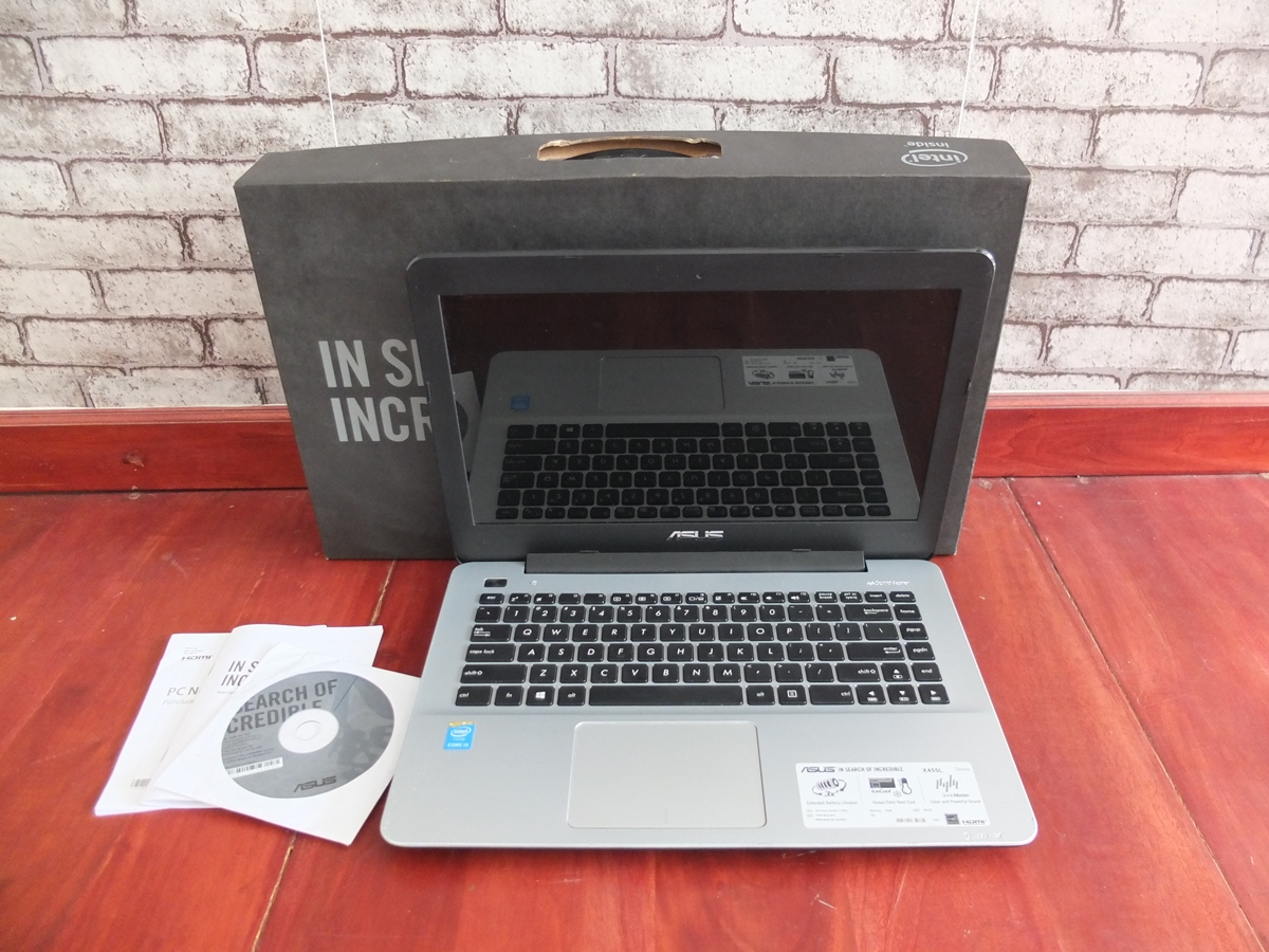 Jual Beli Laptop Kamera   surabaya   sidoarjo   malang   gersik   krian   Asus X455LA Core i3 4030U
