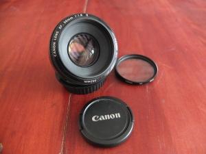 Lensa Canon fix 50mm F 1.8   Jual Beli Kamera Surabaya