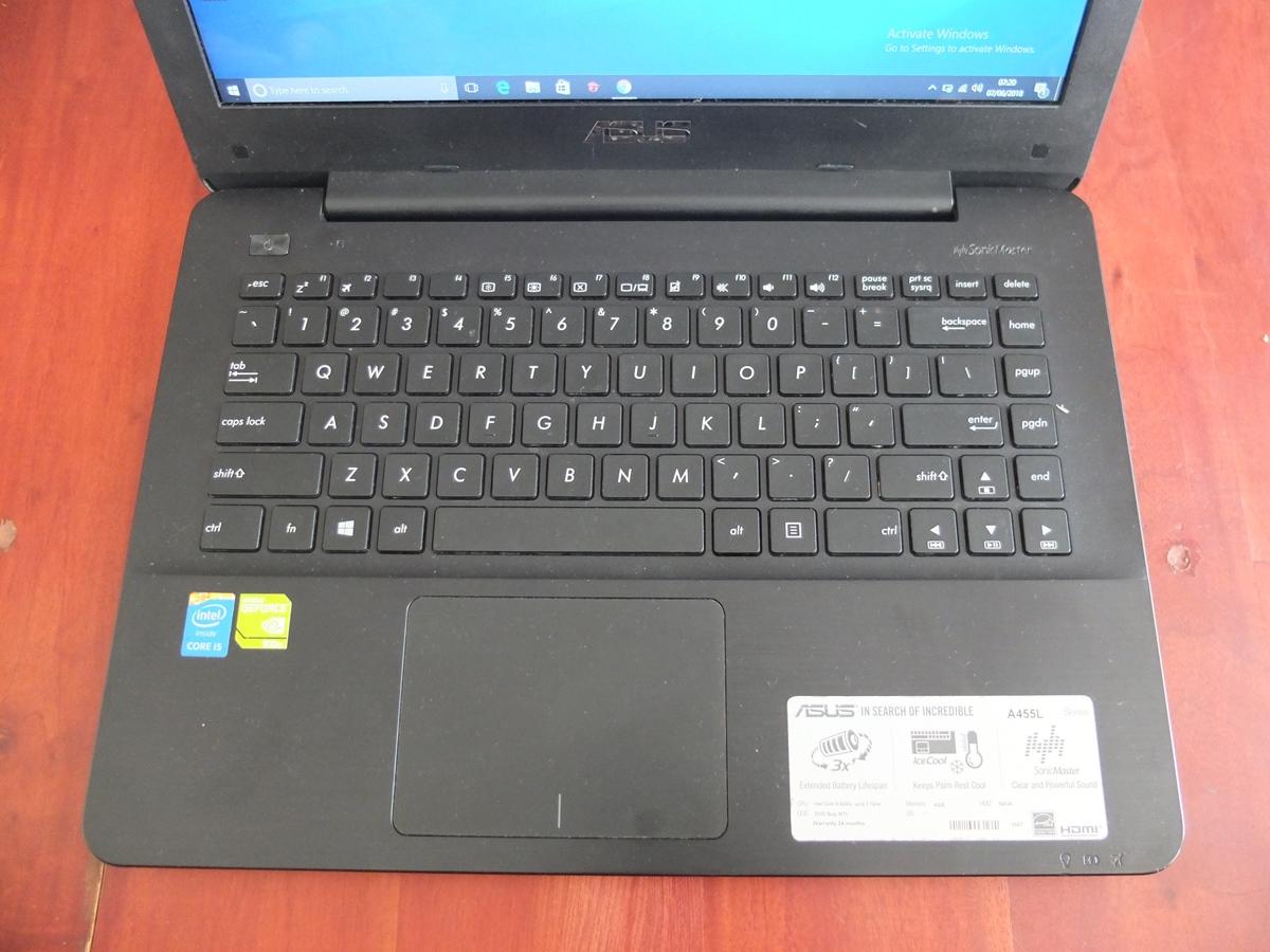 Jual Beli Laptop Kamera   surabaya   sidoarjo   malang   gersik   krian   Asus X455LF Core i5 5200U