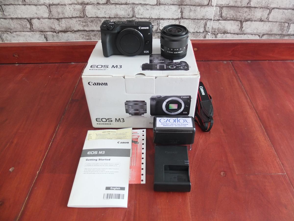 Jual Beli Laptop Kamera   surabaya   sidoarjo   malang   gersik   krian   Canon EOS M3