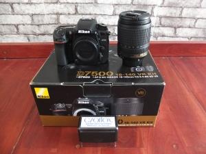 Nikon D7500 Kit 18-140mm SC Dikit Banget | Jual Beli Kamera Surabaya