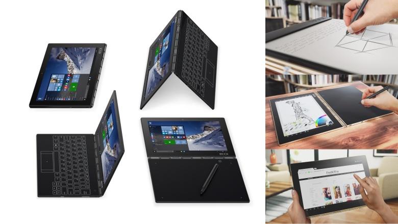 Jual Beli Laptop Kamera | surabaya | sidoarjo | malang | gersik | krian | Lenovo Yoga Book Windows 10