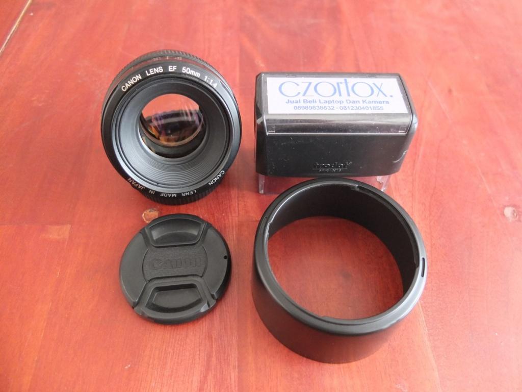 Jual Beli Laptop Kamera | surabaya | sidoarjo | malang | gersik | krian | Canon 50mm f1.4