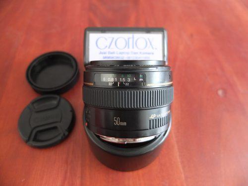 Lensa Canon fix 50mm F 1.4 | Jual Beli Kamera Surabaya