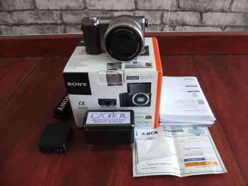 Sony A5100 Brown 16-50mm Umur 1 Bulan | Jual Beli Kamera Surabaya