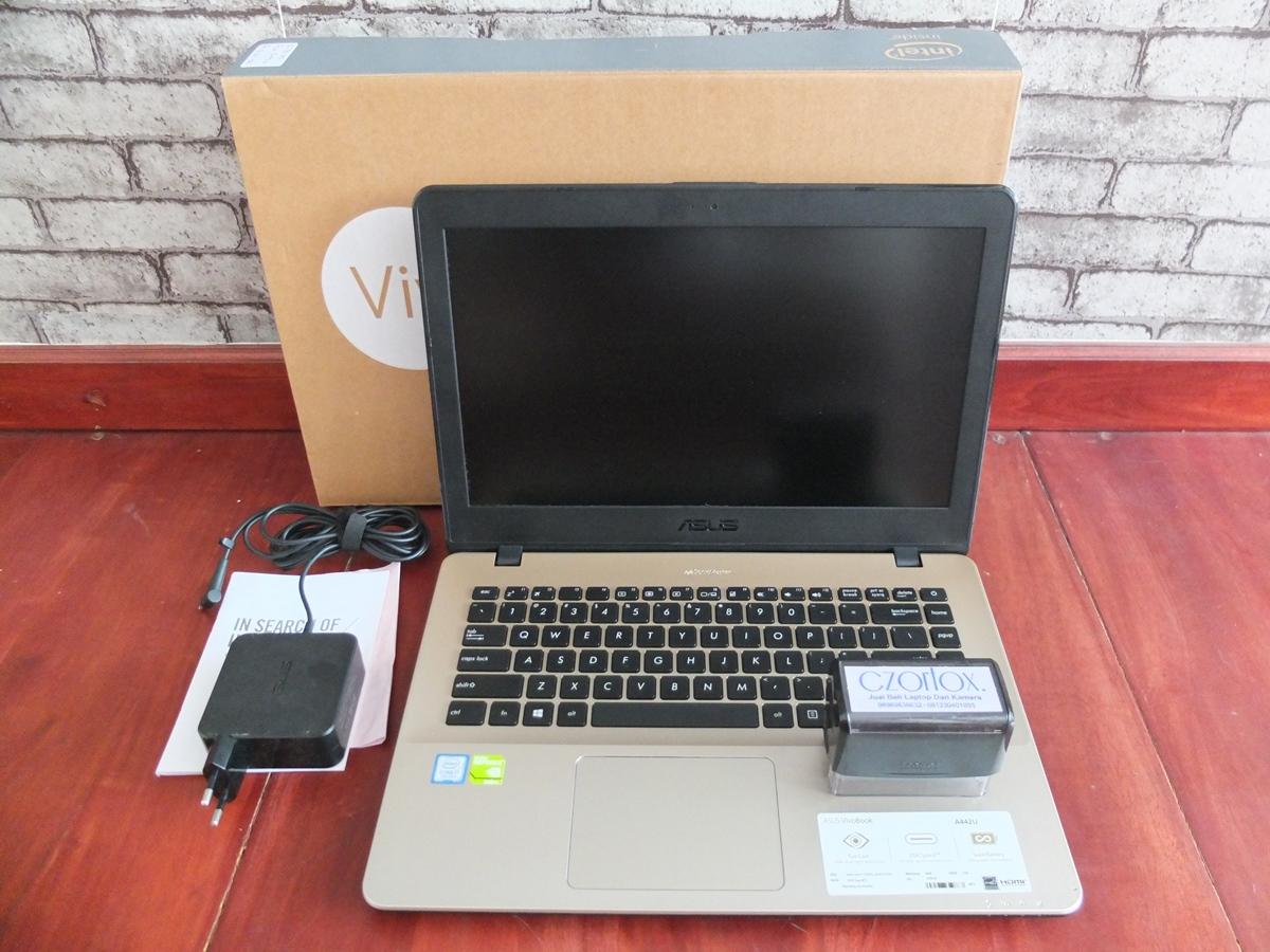Jual Beli Laptop Kamera | surabaya | sidoarjo | malang | gersik | krian | Asus A442UQ Ci7 7500U