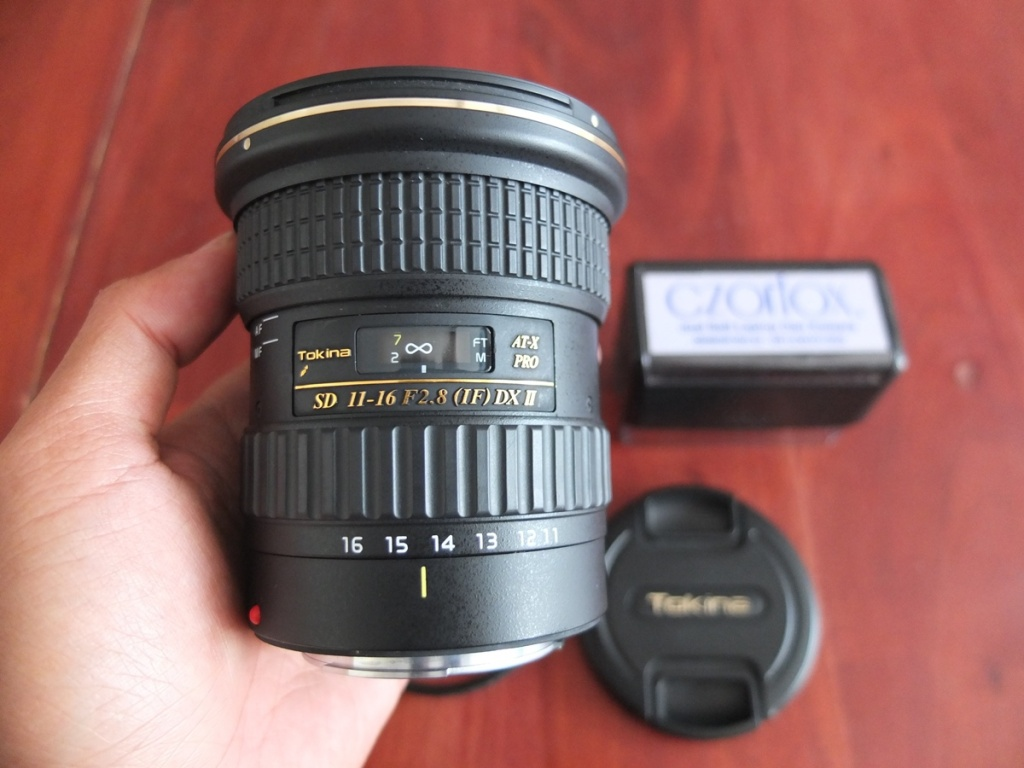 Jual Beli Laptop Kamera | surabaya | sidoarjo | malang | gersik | krian | Tokina Pro AT-X 11-16mm F2.8 (IF) DX II for Canon