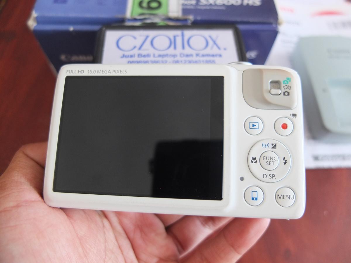 Jual Beli Laptop Kamera   surabaya   sidoarjo   malang   gersik   krian   Canon Powershoot SX600 HS