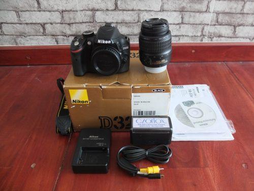 Nikon D3200 Kit 18-55mm SC Dikit Banget   Jual Beli Kamera Surabaya