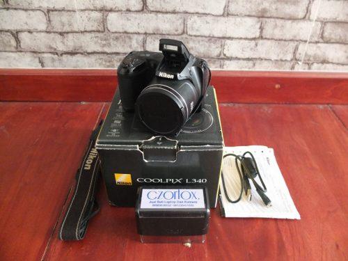Nikon L340 With Zoom Optical 28x | Jual Beli Kamera Surabaya