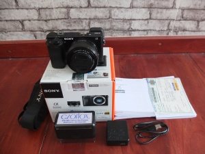 Sony A6000 Lensa 16-50mm OSS Black   Jual Beli Kamera Surabaya