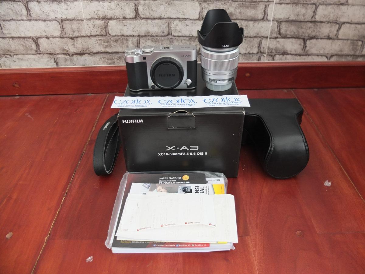 Jual Beli Laptop Kamera | surabaya | sidoarjo | malang | gersik | krian | Fujifilm X-A3 XA3