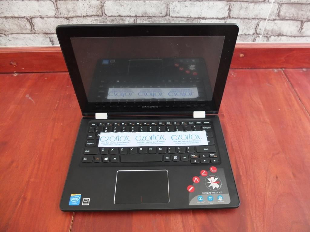 Jual Beli Laptop Kamera | surabaya | sidoarjo | malang | gersik | krian | Lenovo Ideapad Yoga 300 N3050