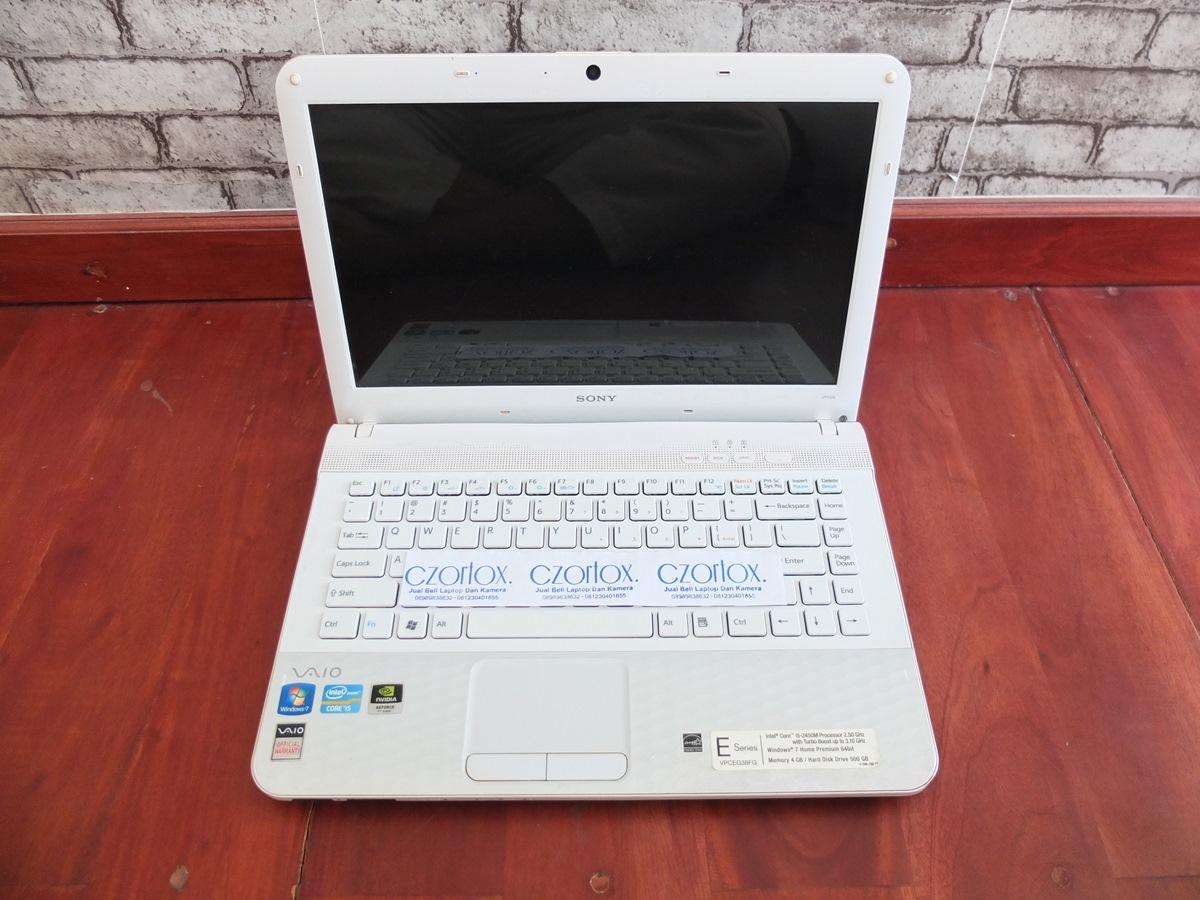 Jual Beli Laptop Kamera   surabaya   sidoarjo   malang   gersik   krian   Sony Vaio VPC-EG38FG