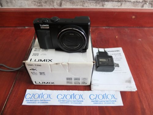 Panasonic Lumix DMC-TZ80 4K Touchscreen Wifi   Jual Beli Kamera Surabaya