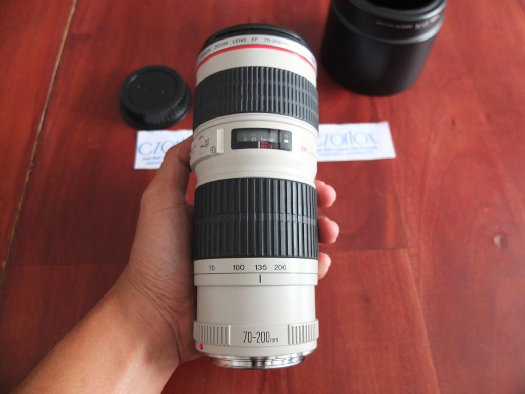 Jual Beli Laptop Kamera | surabaya | sidoarjo | malang | gersik | krian | Lensa Canon 70-200mm F4 Kode UC