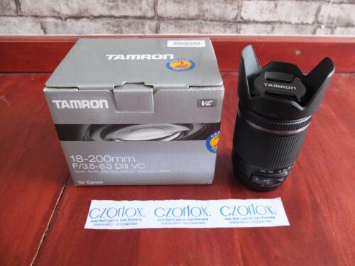 Lensa Tamron 18-200mm  Di II VC | Jual Beli kamera Surabaya