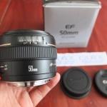 Jual Beli Laptop Kamera | surabaya | sidoarjo | malang | gersik | krian | Lensa Canon 50mm F1.4