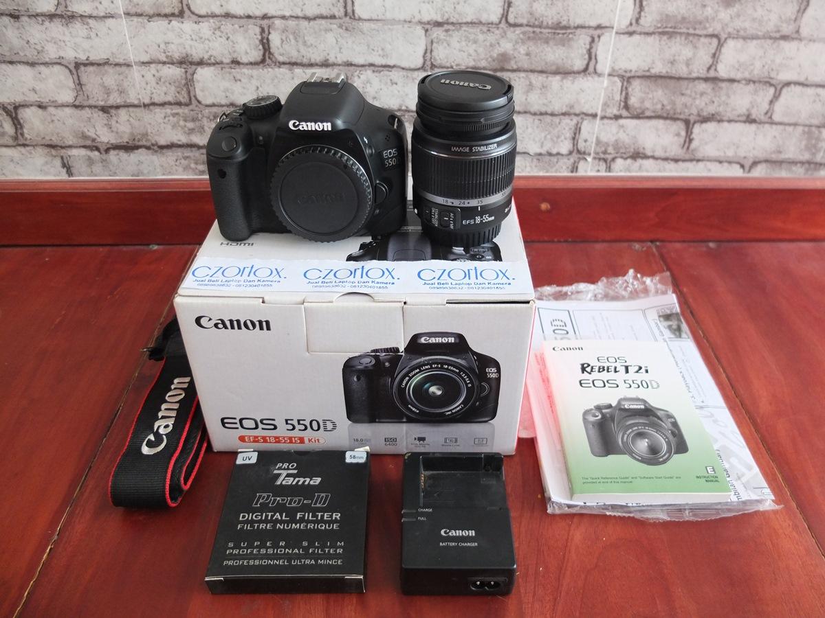 Jual Beli Laptop Kamera | surabaya | sidoarjo | malang | gersik | krian | Lensa Canon 550D