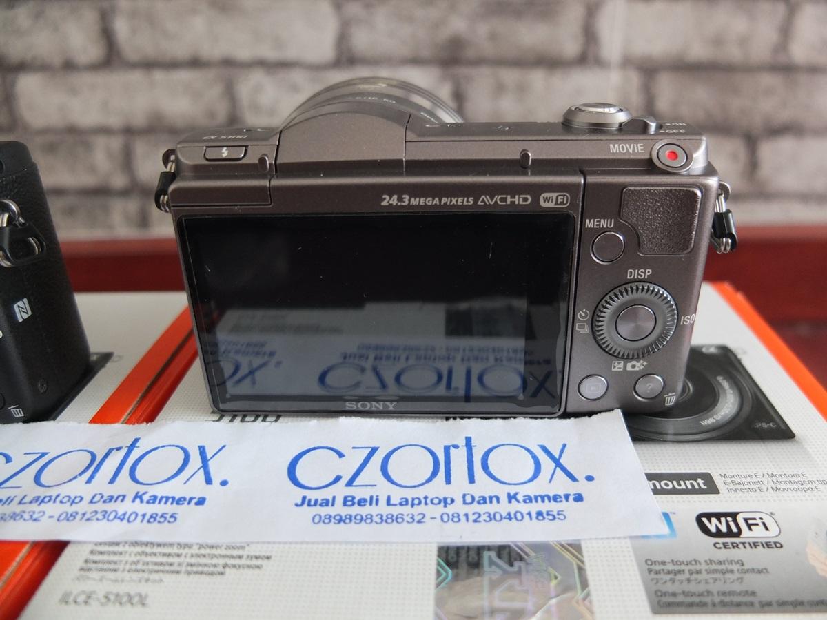 Jual Beli Laptop Kamera | surabaya | sidoarjo | malang | gersik | krian | Sony A5100 kit 16-55mm OSS