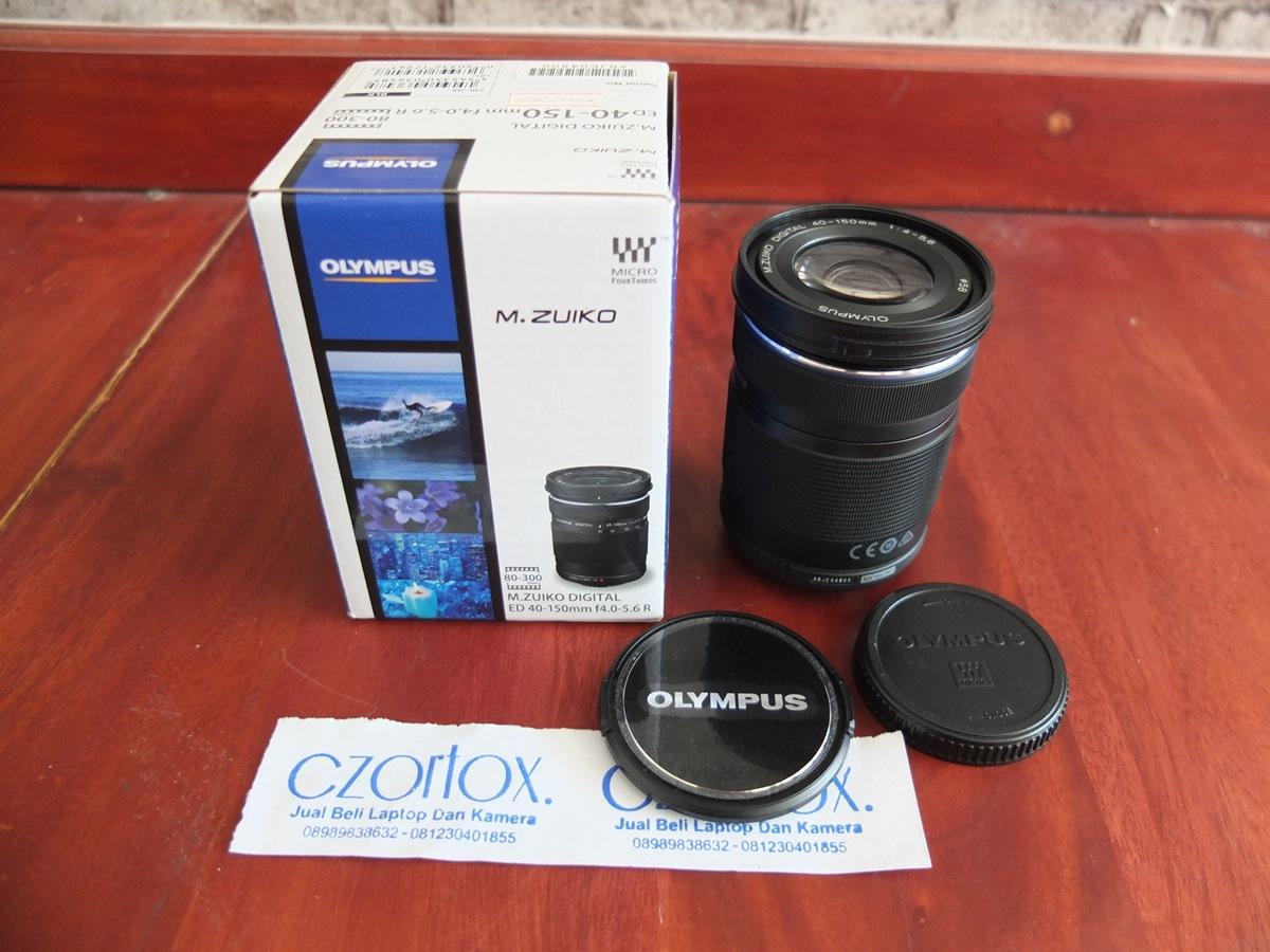 Jual Beli Laptop Kamera | surabaya | sidoarjo | malang | gersik | krian | Lensa Olympus Zuiko 40-150mm