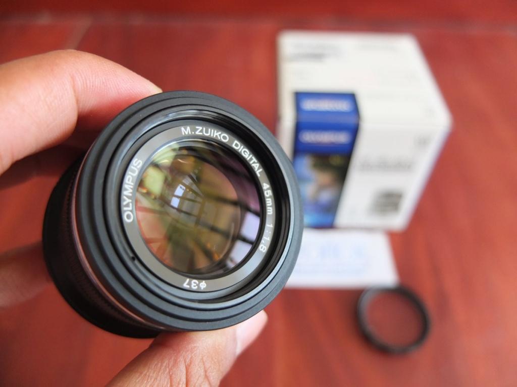 Jual Beli Laptop Kamera | surabaya | sidoarjo | malang | gersik | krian | Lensa Olympus Zuiko 45mm F1.8