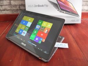 Asus Zenbook Flip UX360UA SSD 512Gb Bukan Macbook Air | Jual Beli Laptop Surabaya