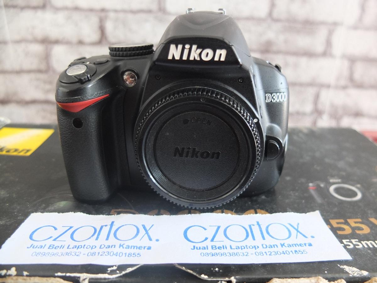 Jual Beli Laptop Kamera   surabaya   sidoarjo   malang   gersik   krian   Nikon D3000 Kit 18-55mm