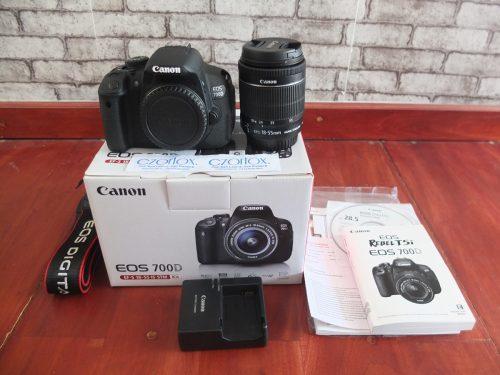 Canon 700D Kit 18-55mm STM SC SC minim 1.2xx | Jual Beli Kamera Surabaya