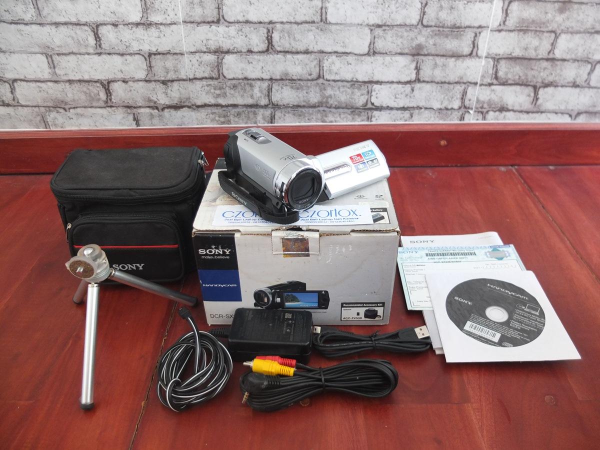 Jual Beli Laptop Kamera | surabaya | sidoarjo | malang | gersik | krian | Handicam Sony SX22e