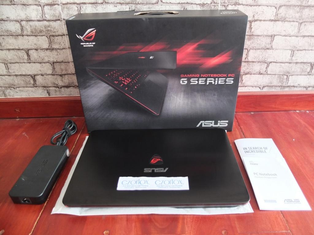 Jual Beli Laptop Kamera | surabaya | sidoarjo | malang | gersik | krian | Asus ROG G551VW 4K