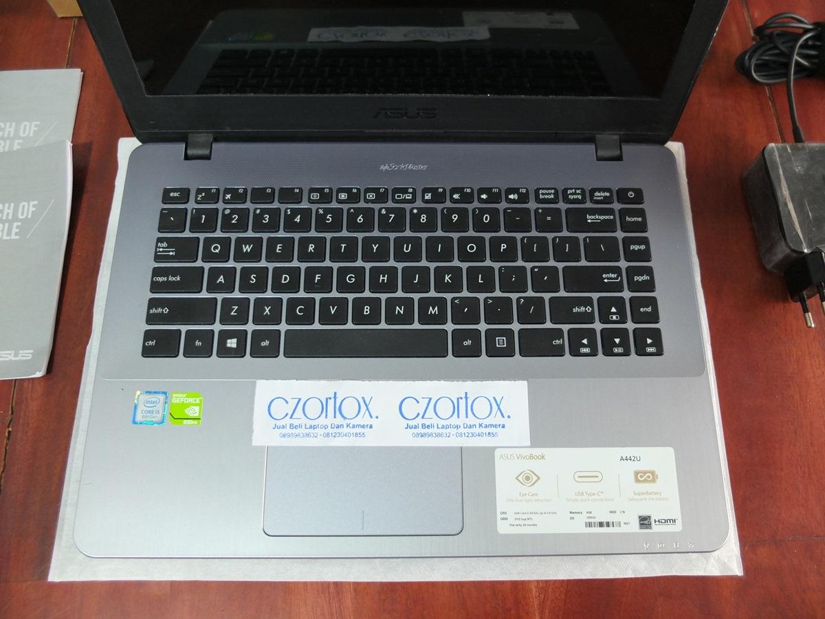 Jual Beli Laptop Kamera   surabaya   sidoarjo   malang   gersik   krian   Asus A442UR Core i5 8520U