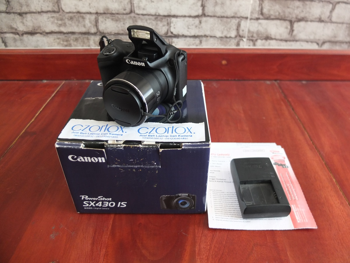 Jual Beli Laptop Kamera | surabaya | sidoarjo | malang | gersik | krian | Canon SX430