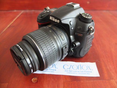 Nikon D7000 Kit 18-55mm SC Minim 11.xxx || Jual Beli Kamera Surabaya