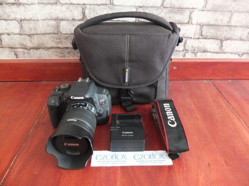 Canon Kiss X7i / 700D Kit 18-55mm STM SC 11.xxx | Jual Beli Kamera Surabaya