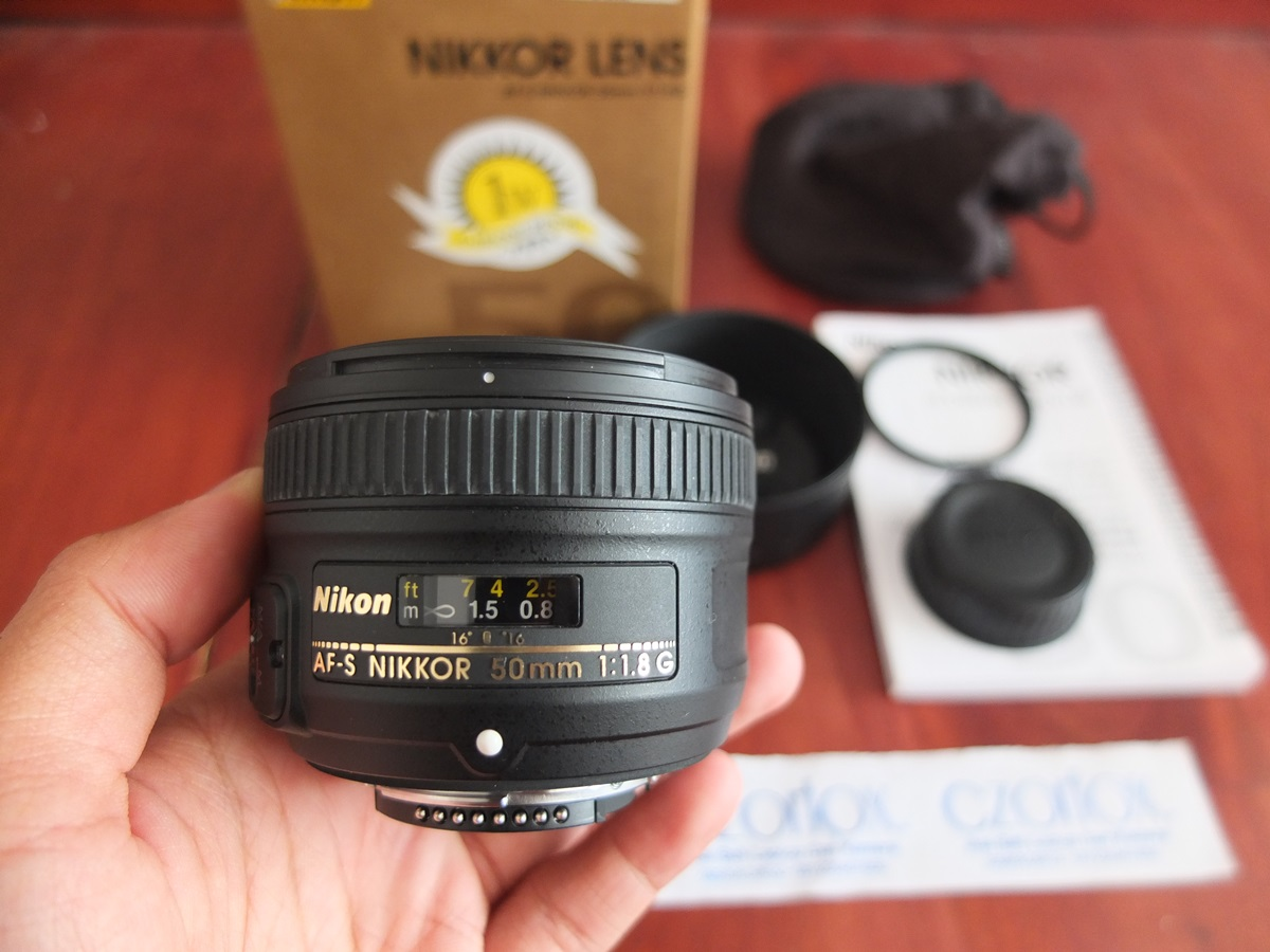 Jual Beli Laptop Kamera | surabaya | sidoarjo | malang | gersik | krian | Nikon AFS 50mm F1.8