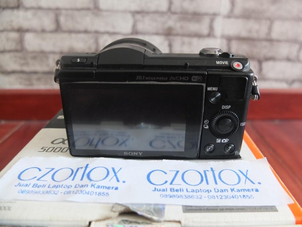 Jual Beli Laptop Kamera | surabaya | sidoarjo | malang | gersik | krian | Sony A5000 Kit 16-50mm OSS