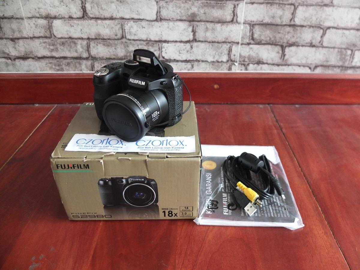 Jual Beli Laptop Kamera | surabaya | sidoarjo | malang | gersik | krian | Fujifilm finepix S2980