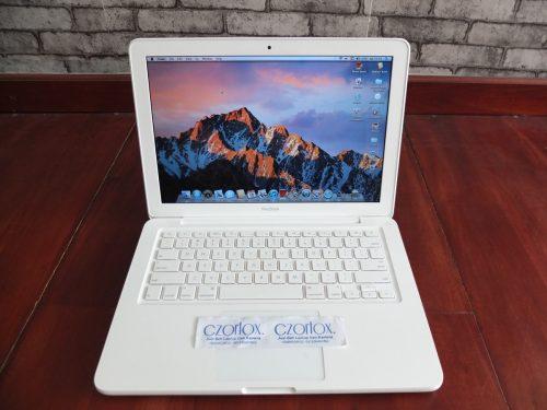 Macbook White Unibody 7.1 C2D Nvidia 320M Istimewa   Jual Beli Laptop Surabaya